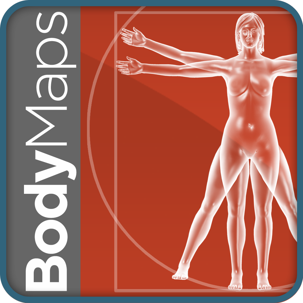 Healthline Body Maps Female 3d Human Anatomy Reference Free